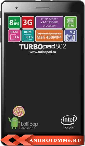 Turbopad 802i 8GB 3G