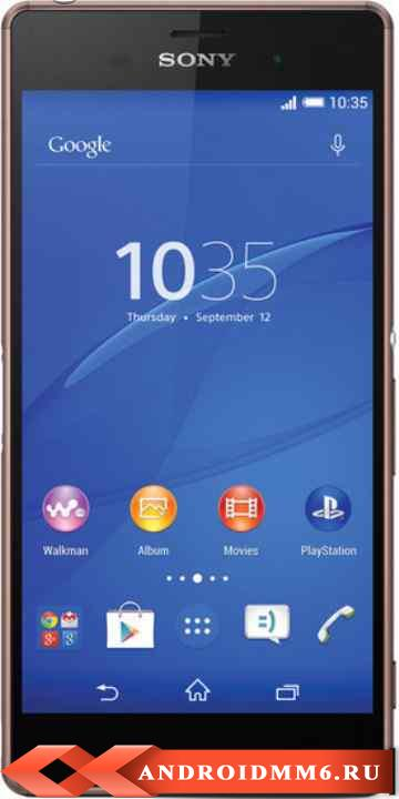 Смартфон Sony Xperia Z3 Copper