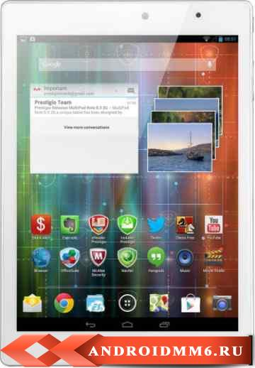 Планшет Prestigio MultiPad 4 Diamond 7.85 16GB 3G (PMP7079D3GUK_WH_QUAD)