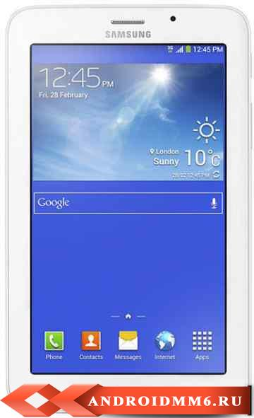 Планшет Samsung Galaxy Tab 3 V 8GB 3G Cream (SM-T116)