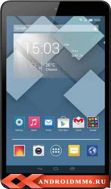 Alcatel OneTouch POP8 4GB 3G (ALC-OTP320X-FLBK)