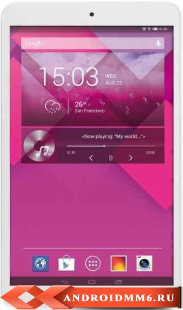 Alcatel OneTouch POP8 4GB 3G (ALC-OTP320X-FLWH)