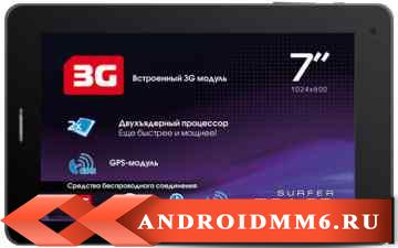 Explay Surfer 7.34 4GB 3G