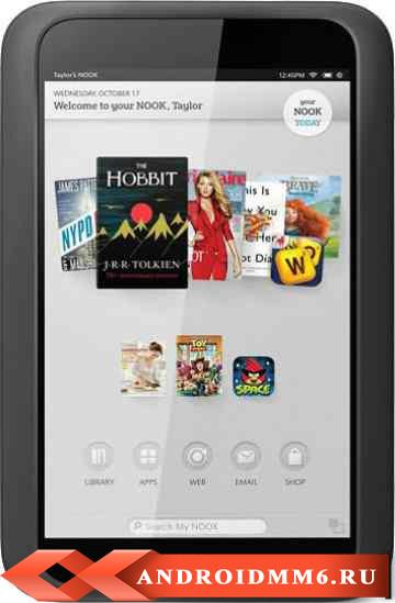 Barnes & Noble NOOK HD Smoke 16GB