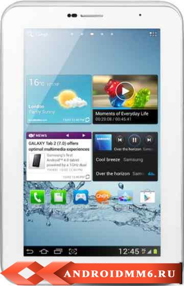 Планшет Samsung Galaxy Tab 2 7.0 16GB 3G Pure (GT-P3100)