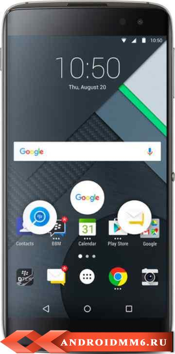 BlackBerry DTEK60 Black BBA100-2